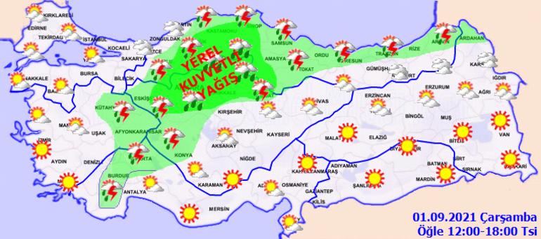 Son dakika... Bugün hava nasıl olacak 8 il için sağanak, sel ve su baskını uyarısı