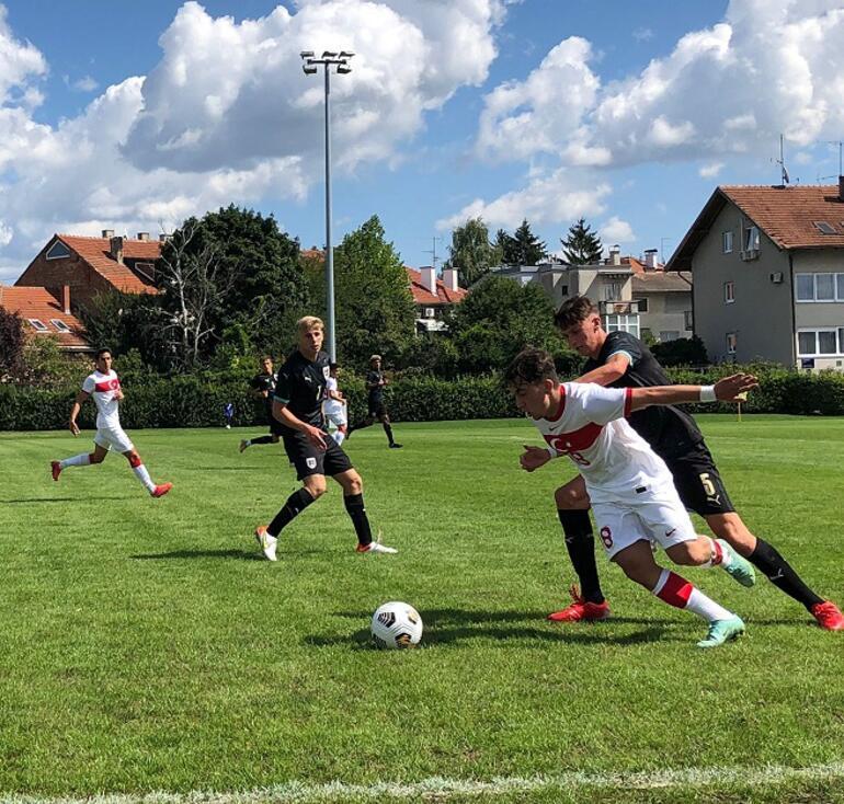 19 Yaş Altı Uluslararası Dostluk Turnuvası: Türkiye 3-0 Avusturya
