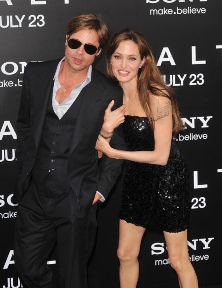 Angelina Jolie: Brad Pitt ile ilişkim boyunca kendimin ve çocuklarımın güvenliğinden endişe ettim