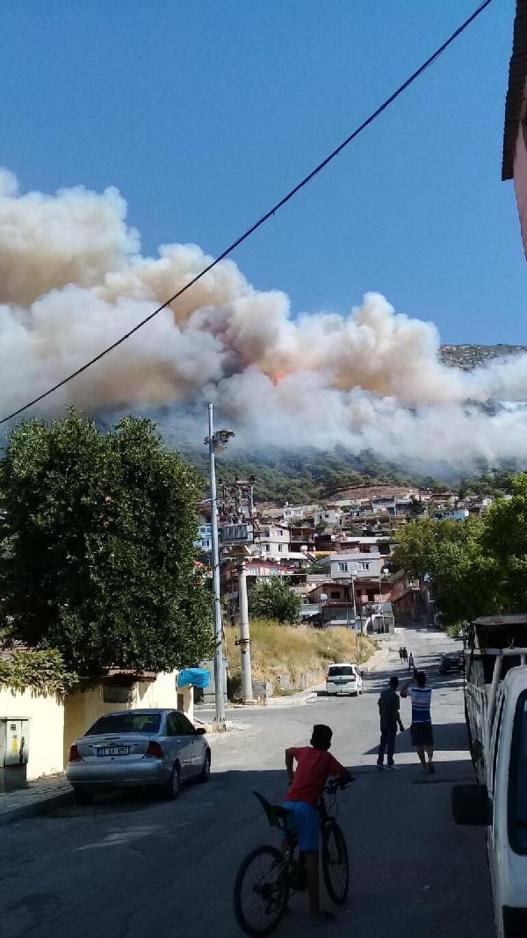 Son dakika Hatay Antakyada orman yangını