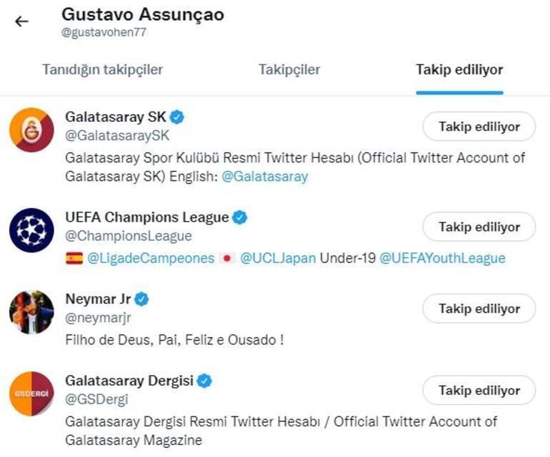 Son dakika: Galatasarayın yeni transferi Gustavo Assunçao İstanbulda Maliyeti belli oldu, maaşı ve opsiyon...