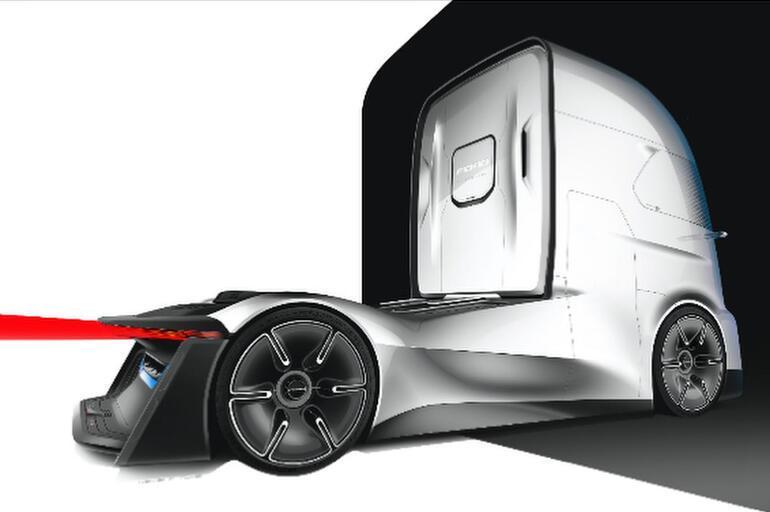 Geleceğin kamyonunu tasarlamıştı... Şimdi Almanya'da...