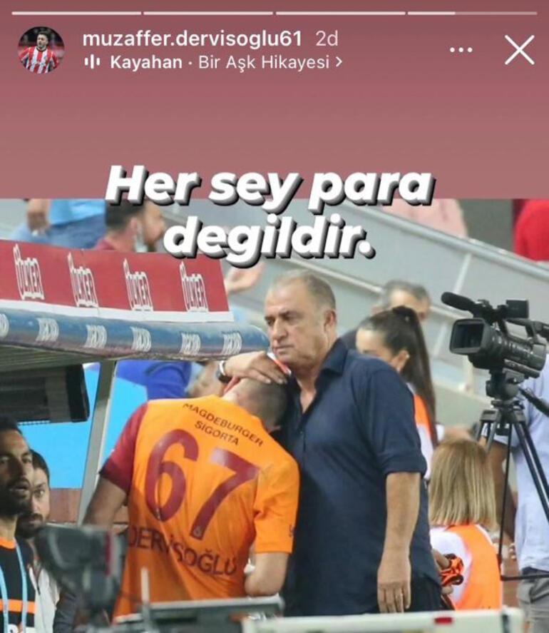 Halil Dervişoğlunun babasından imalı paylaşım