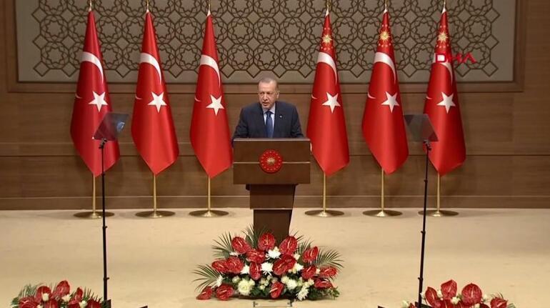 Son dakika haberi: 6. Anadolu Medya Ödülleri programı... Erdoğan: 2023 Türk milletinin yeniden şahlanışının sembolüdür