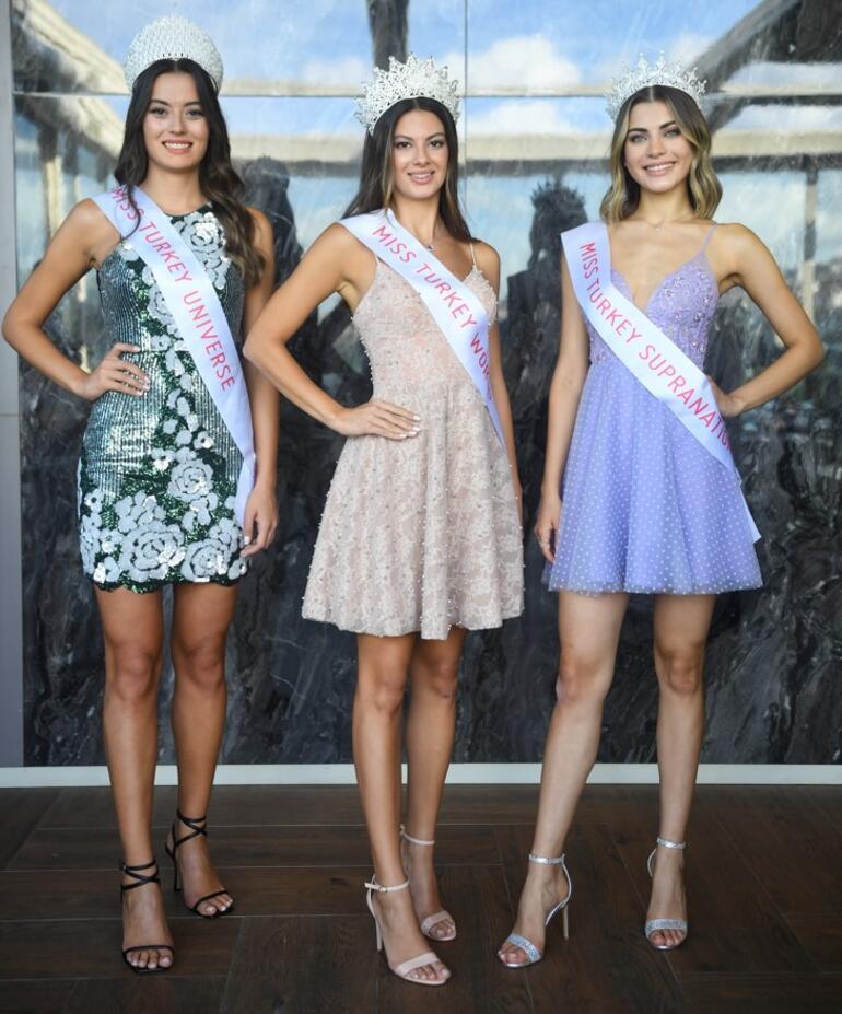 Miss Turkey 2021 güzelleri gelecek planlarını anlattı