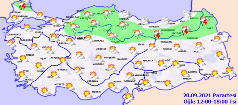 Son dakika... Meteorolojiden son hava durumu raporu Sıcaklıklar aniden düşüyor... Harita paylaşıldı