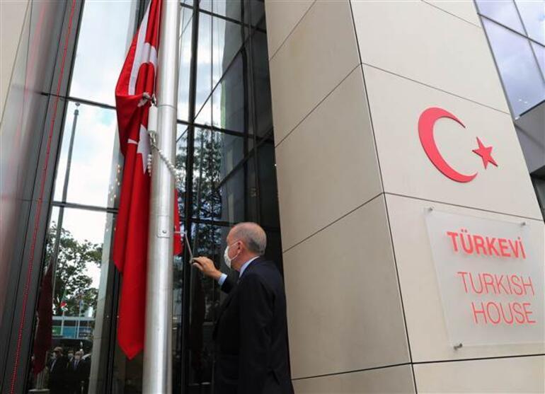 Son dakika haberi: New Yorkun kalbindeki Türkevi açıldı Erdoğan: Türkevimizin kapısı herkes açık