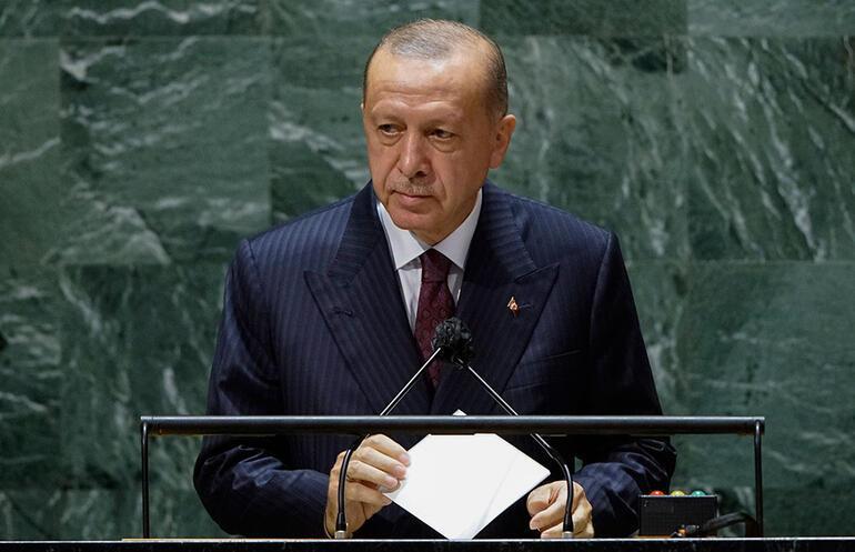 Son dakika haberi: Cumhurbaşkanı Erdoğan BM Genel Kurulunda dünyaya sesleniyor