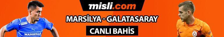 Galatasaray 5 eksikle Fransada Maçın iddaada favorisi olan Marsilyanın oranı...