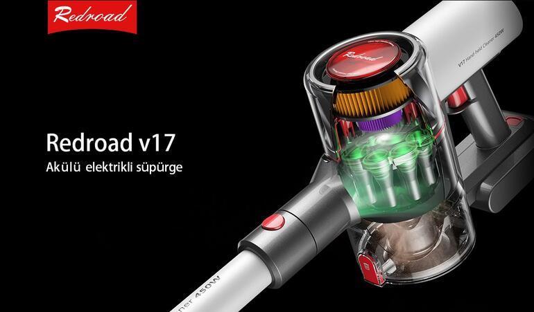 Redroad V17: Bir renk paleti ile temizlik ortağınızı kişiye özel seçin