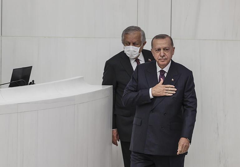 Son dakika... TBMM'de yeni yasama yılı başladı... Cumhurbaşkanı Erdoğan: Meclisin ışıkları yanıyorsa bu ülkenin sırtı yere gelmez