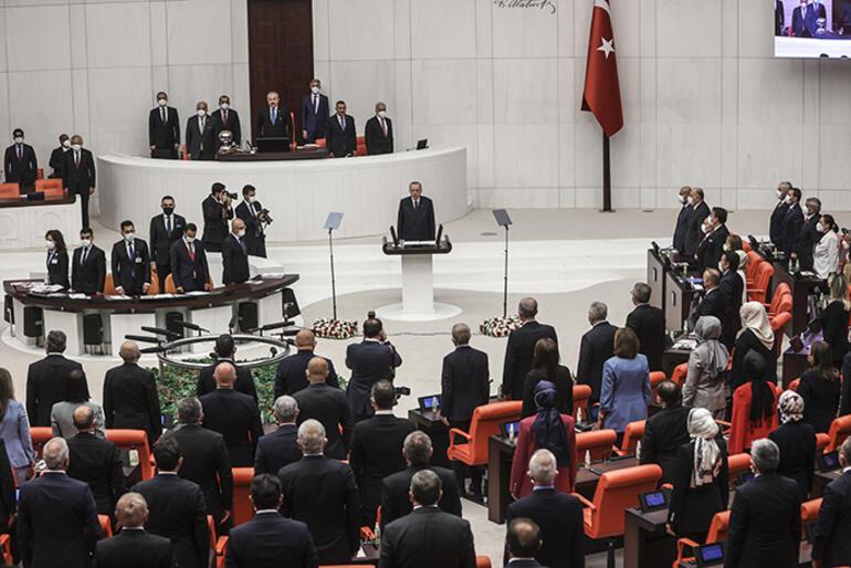Son dakika... TBMM'de yeni yasama yılı başlıyor... 'Kürt sorununu çözdük'... Cumhurbaşkanı Erdoğan: İstismar edenlerin maskelerini düşüreceğiz