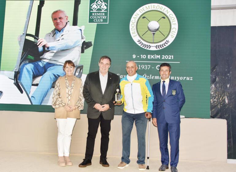 Erdoğan Demirören Golf Turnuvası'nın 4'üncüsü tamamlandı