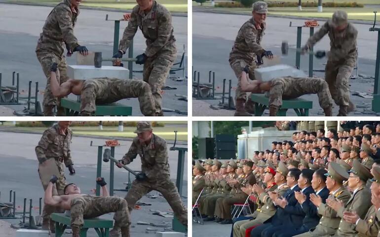 Yenilmez ordu kuracağım demişti... Kimin askerleri şov yaptı