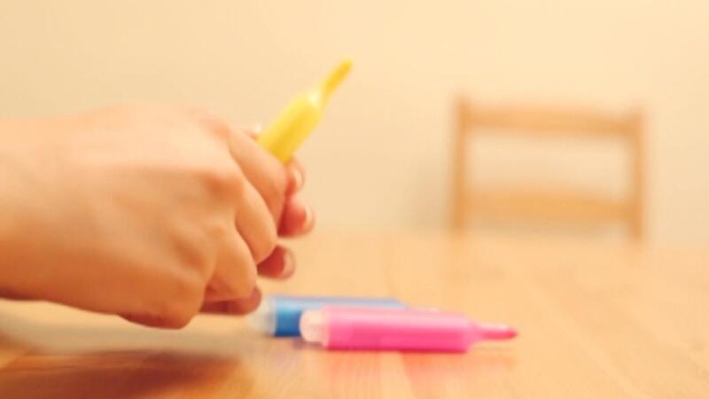 Renkli kalemle gökkuşağı yapımı - Yaparım Bilirsin