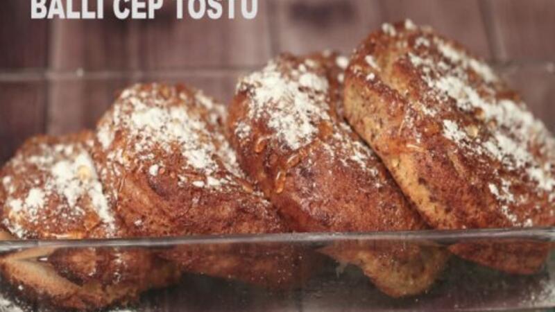 Ballı cep tostu - Lezizz