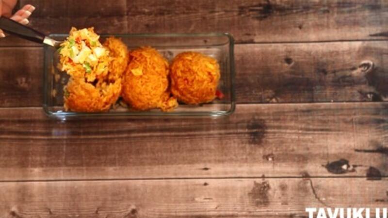 Tavuklu pirinç topları tarifi - Lezizz!