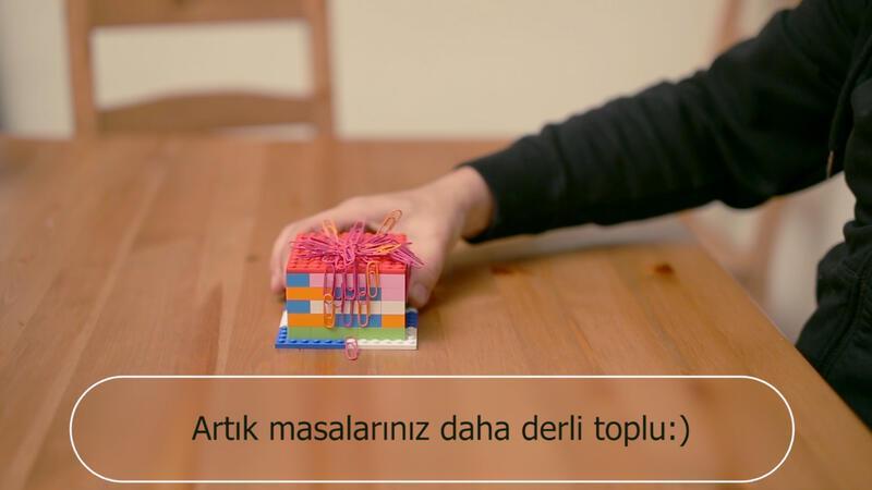 Mıknatıslı Lego Küp | Yaparım Bilirsin