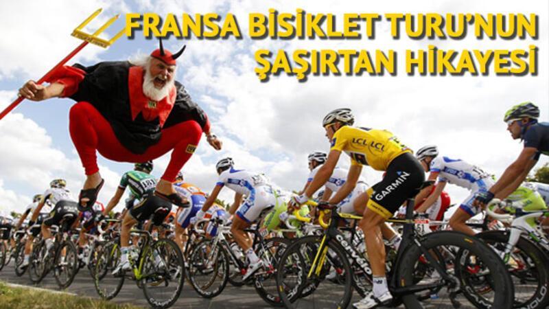 Fransa Bisiklet Turu'nun şaşırtan tarihi