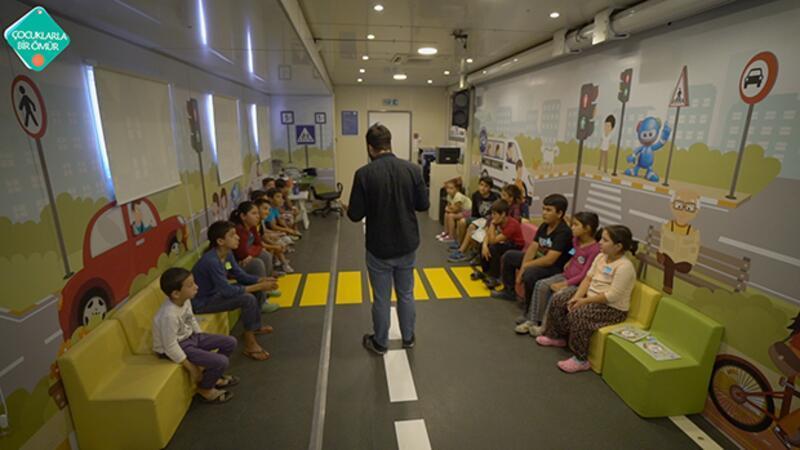 Her çocuk trafik eğitimi almalı!