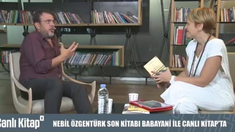 Nebil Özgentürk son kitabı ''Babayani' hakkında konuşuyoruz. | Canlı Kitap