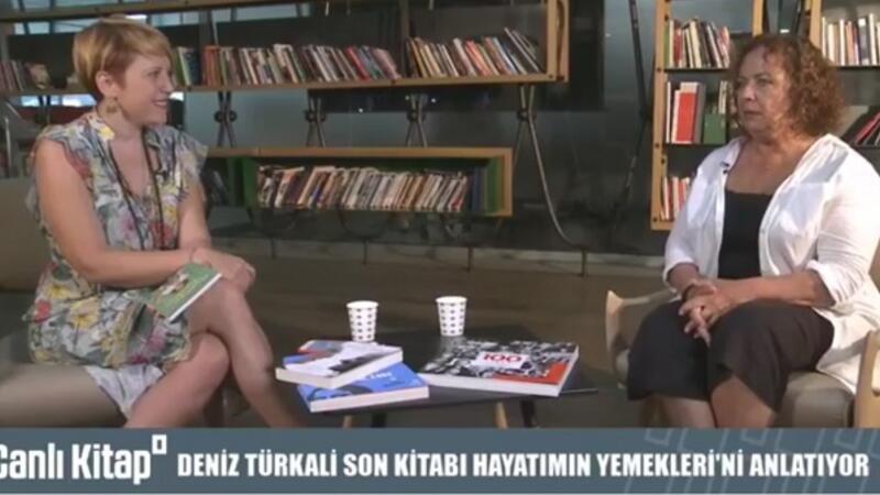 Deniz Türkali ile son kitabı Hayatımın Yemekleri'ni konuşuyoruz. | Canlı Kitap
