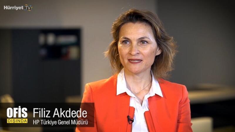 """HP Türkiye Genel Müdürü Filiz Akdede: """"2030'da milenyum jenerasyonuna hizmet vereceğiz""""   Ofis Dışında"""