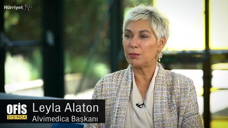 """Leyla Alaton """"Eğer globalleşip ihracat yapmazsan o baloda dans edemezsin""""   Ofis Dışında"""