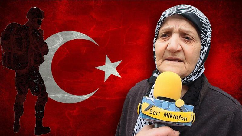 Afrin'deki askerlerimize mesajınız nedir? - Sarı Mikrofon