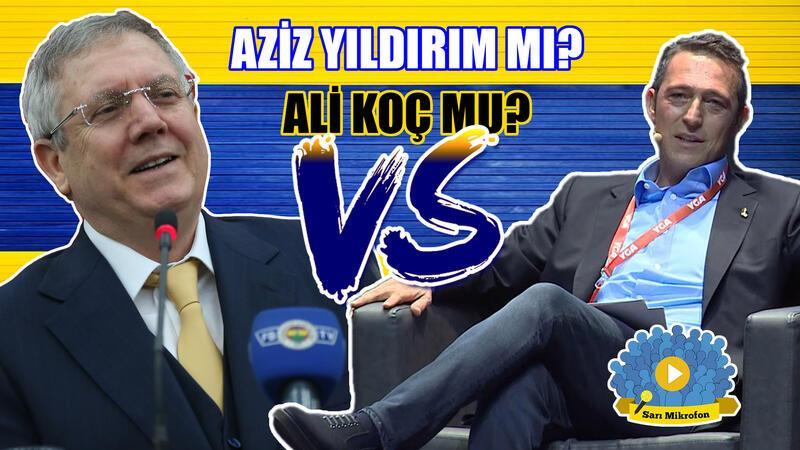 Fenerbahçe başkanlık seçimini Ali Koç mu, Aziz Yıldırım mı kazanır?