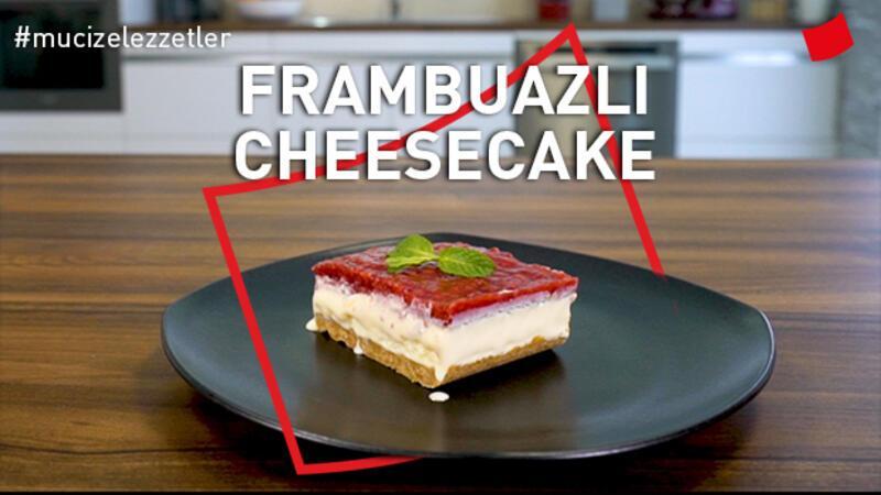 Frambuazlı Pratik Cheesecake | Mucize Lezzetler