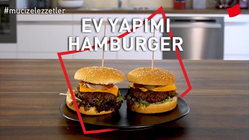Ev Yapımı Hamburger | Mucize Lezzetler