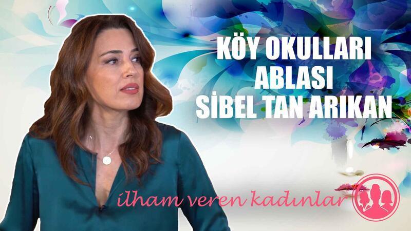 Türkiye'nin güzellik kraliçelerinden Sibel Tan artık köy okullarının ablası!