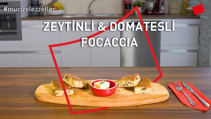 Zeytinli & Domatesli Focaccia | Mucize Lezzetler