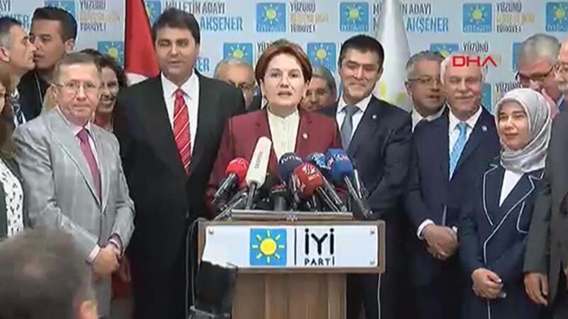 İYİ Parti lideri Meral Akşener, seçim sonuçlarını değerlendirdi