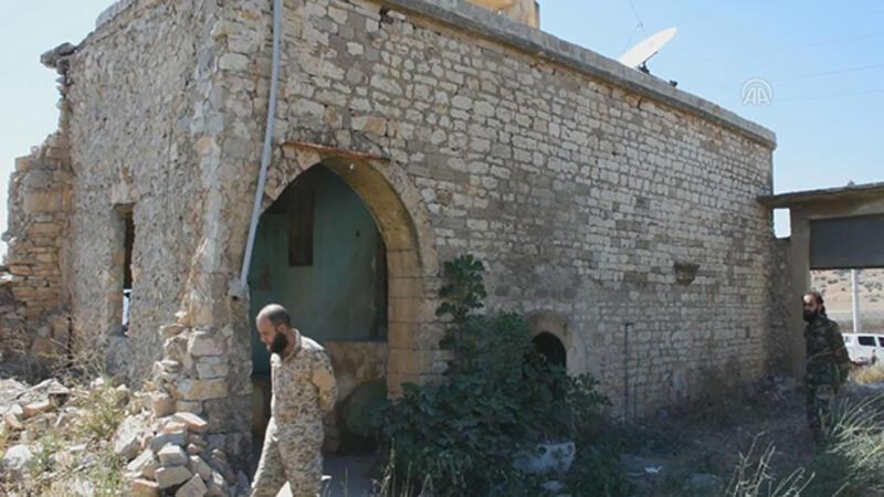 Atatürk'ün Afrin'de kullandığı karargah bulundu