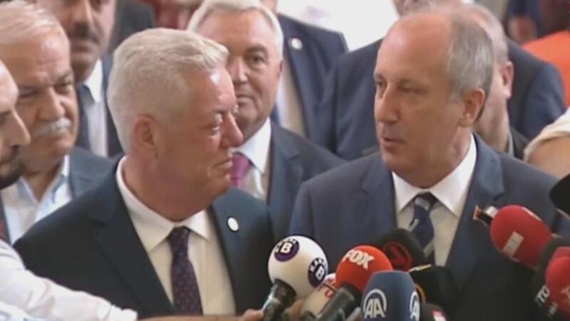 İnce'den Kılıçdaroğlu'na 'onursal başkanlık' teklifi