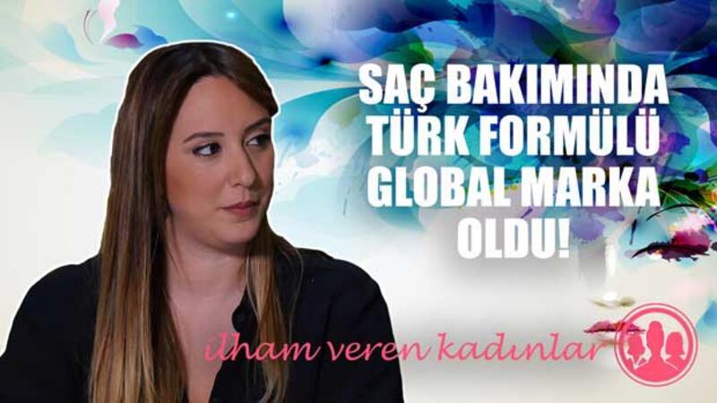 Saç bakımında global marka yaratan genç girişimci Selen Yorgun