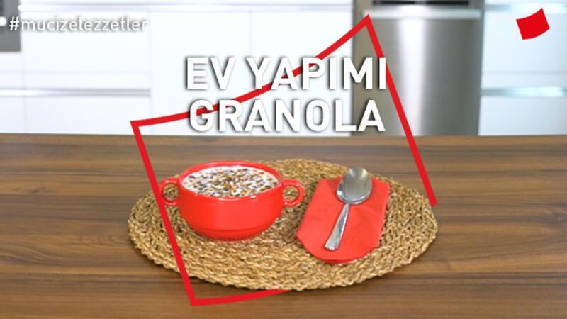 Ev Yapımı Granola | Mucize Lezzetler