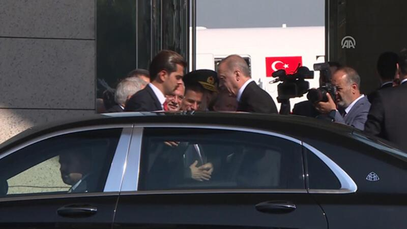 Cumhurbaşkanı Erdoğan, Azerbaycan'a gitti