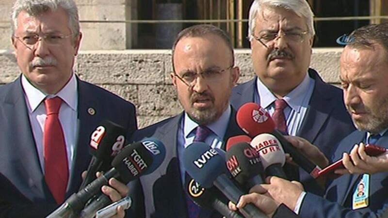 Bülent Turan, OHAL'in kaldırılmasına ilişkin açıklama yaptı.