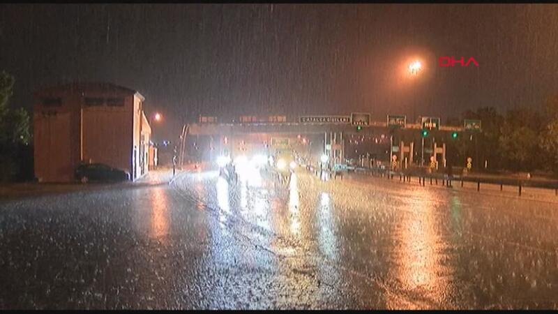 İstanbul ve Tekirdağ'da şiddetli yağmur