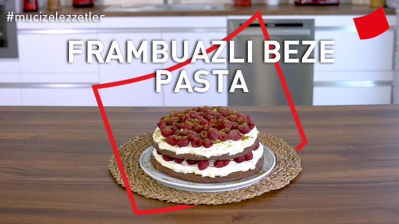 Frambuazlı Beze Pasta | Mucize Lezzetler