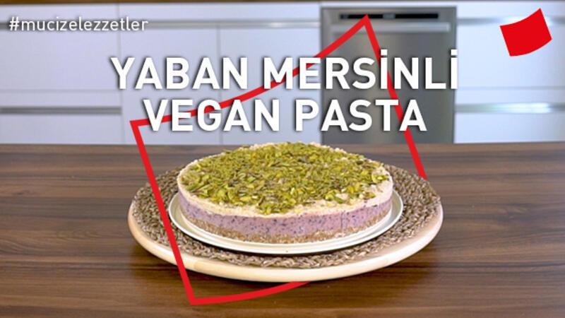 Yaban Mersinli Vegan Pasta | Mucize Lezzetler
