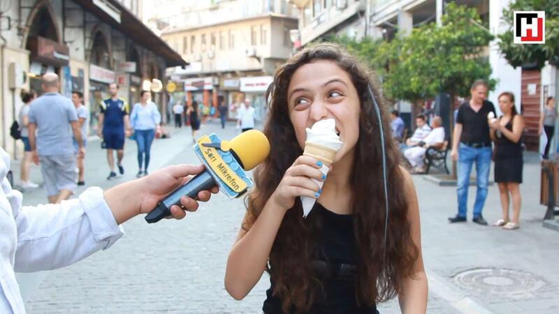 Dondurma nasıl yenmez? | Sarı Mikrofon