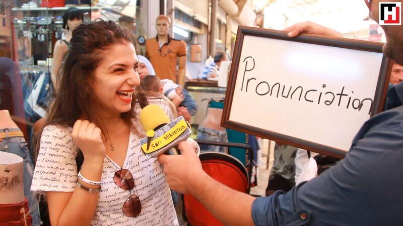 Pronunciation nasıl okunur? - Sarı mikrofon