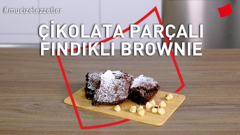 Çikolata Parçacıklı Fındıklı Brownie | Mucize Lezzetler