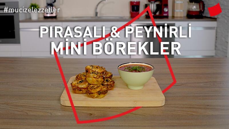 Pırasalı Peynirli Mini Börekler | Mucize Lezzetler