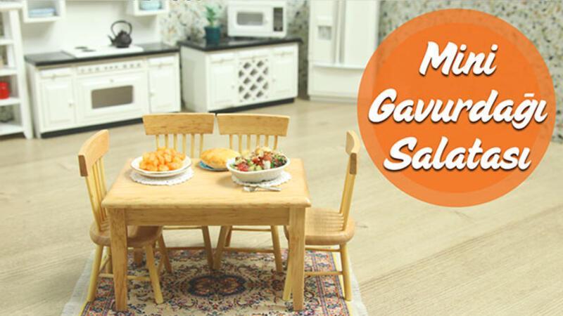 Mini Türk Mutfağı - Mini Gavurdağı Salatası