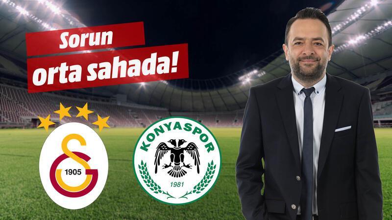 Galatasaray'ın da Konya'nın da orta sahası sorunlu.